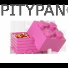 LEGO® tárolódoboz 4-es Friends / pink